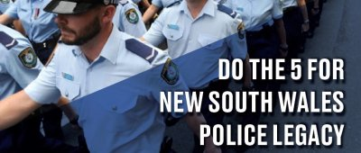 Do the 5 for Police Legacy - Lake Macquarie